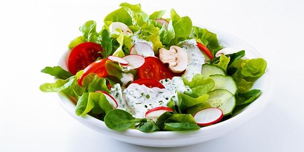 Salade composé du jour option