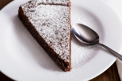 Tarte au chocolat dessert vendredi
