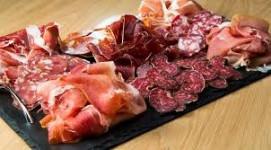 Barquette de charcuterie option