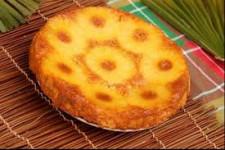 Gâteau ananas et caramel dessert mercredi