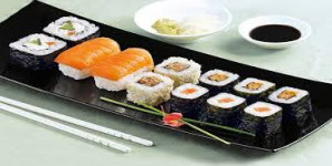 Menu sushi 12 pièces jeudi