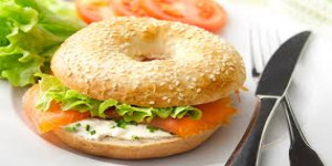 Sandwich Bagel New York saison gourmand lundi