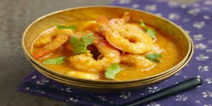 Poisson rôti curry coco thaïe diététique vendredi