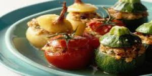 Poivrons farci à la Grecque diététique jeudi