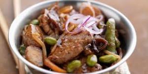 Curry de poulet à l'Indienne diététique mercredi