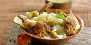 Poulet tandoori à l'Indienne diététique mardi