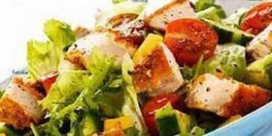 Menu salade mercredi