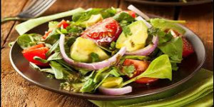 Menu salade vendredi